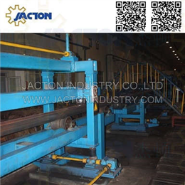 Roll pass system roller adjustment in a rolling mill of steel industry