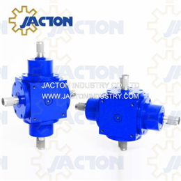 JTP170 Bevel Gearbox 4 Way Right Angle Gear Drives