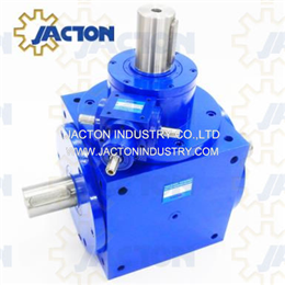 JTP240 3 Way Right Angle Shaft Miter Gearbox