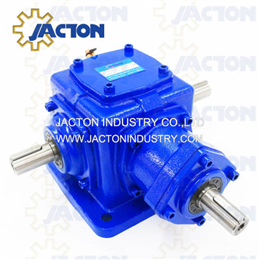 JT19 Spiral Bevel Gears Right Angle 2 Way Gearboxes