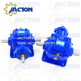 JT40 Dual Output Gear Reducers T Spiral Bevel Gearbox