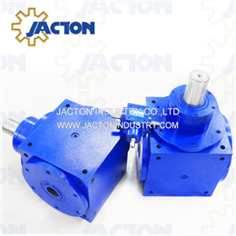 JTH90 hollow shaft 90 degree drive,3 way hollow shafts gearboxes