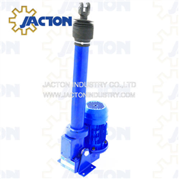 1000Kgf electric actuators precision compared to hydraulic cylinders